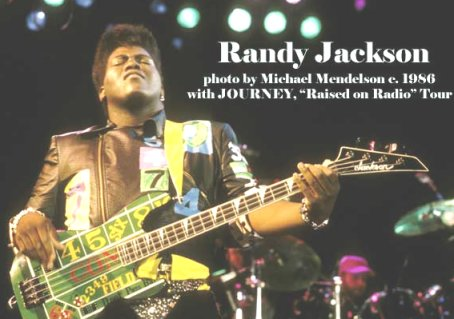 randy jackson in journey. Randy jackson hourney