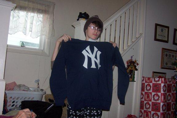 JoshYankeesSweatshirt