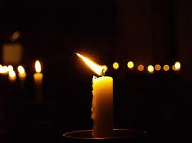 Candle wind