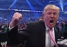 Trump yell
