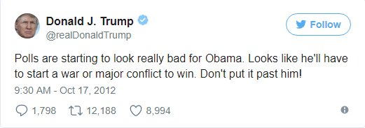 Tweet war