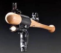 Baseball bat gun