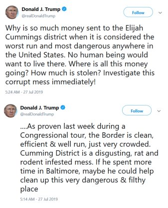 Cummings tweets