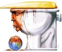 Trump toilet