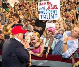 Trump worshippers