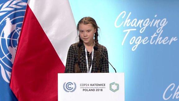 Greta un climate conference