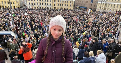 Greta crowds