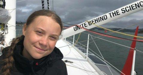 Greta sailing