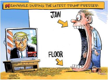 Jaw floor