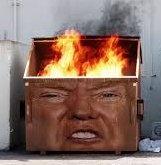 Trumpster fire
