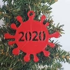 Covid ornament