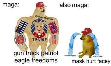 Maga mask