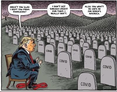 Trump gravestones