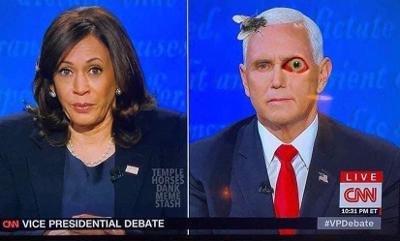 Pence flu eye