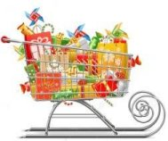Grocery sleigh small