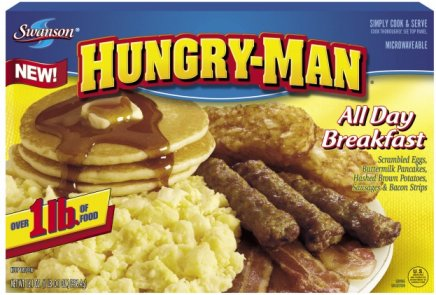 Image result for hungry man breakfast